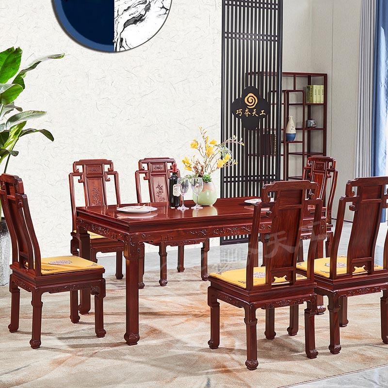 301鸟语花香餐桌椅-A